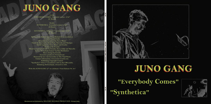 DLV 1015 JUNO GANG - EVERYBODY COMES / SYNTHETICA