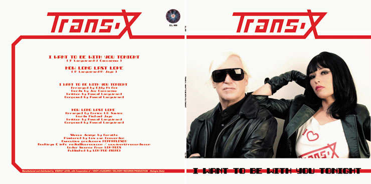 E.L. 005 TRANS-X - I WANT TO BE WITH YOU TONIGHT