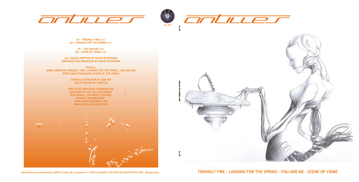 E.L. 007 ANTILLES - FRIENDLY FIRE EP