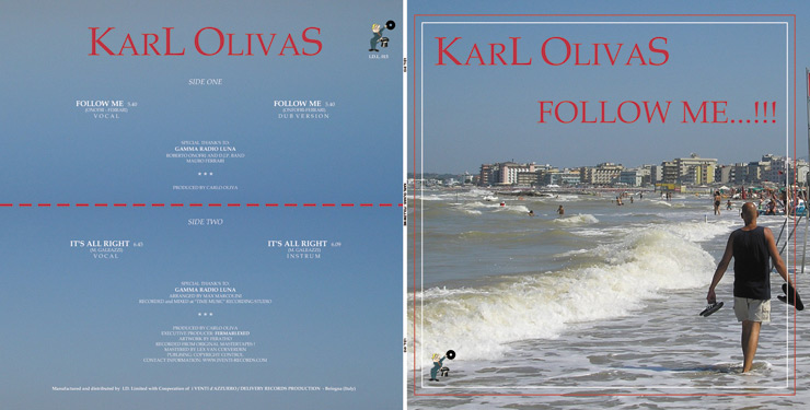 I.D.L. 013 KARL OLIVAS - FOLLOW ME/IT'S ALLRIGHT