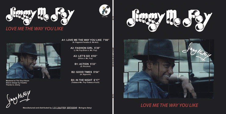 I.D.L. 020 JIMMY Mc. FOY - LOVE ME THE WAY YOU LIKE