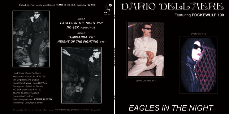 I.D.L. 003 DARIO DELL' AERE featuring FOCKEWULF 190 - EAGLES IN THE NIGHT EP