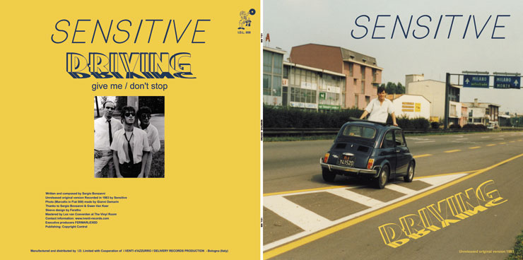 I.D.L. 008 SENSITIVE - DRIVING - EP