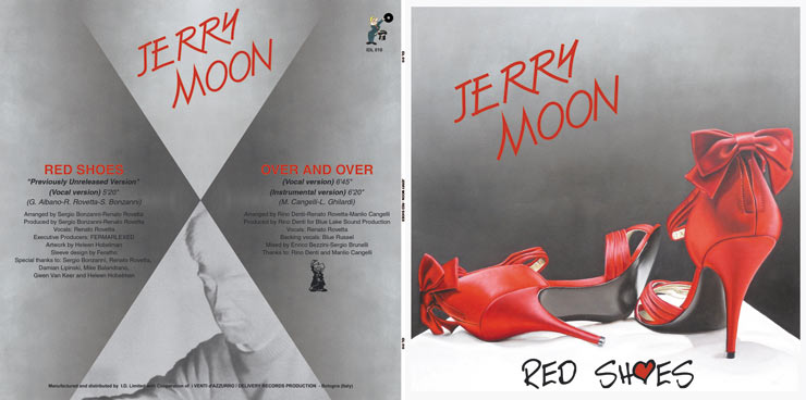 I.D.L. 010 JERRY MOON - RED SHOES