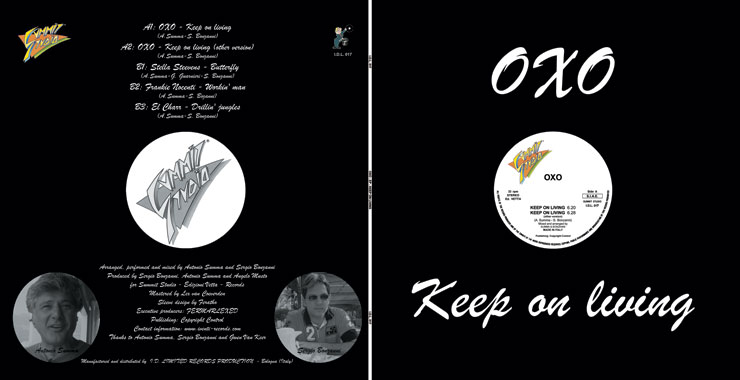 I.D.L. 016 OXO KEEP ON LIVING