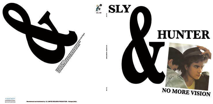 I.D.L. 025 SLY & HUNTER - NO MORE VISION