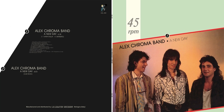 I.D.L. 031 ALEX CHROMA BAND - A NEW DAY