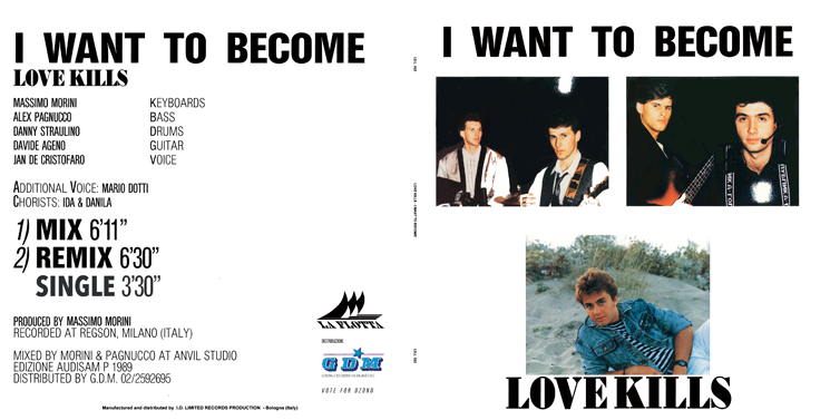 I.D.L. 032 LOVE KILLS - I WANT TO BECOME