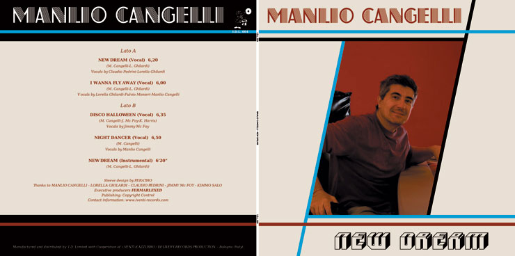 I.D.L. 004 MANLIO CANGELLI - NEW DREAM EP