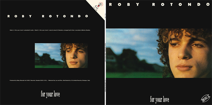 I.D.L. 036 ROBY ROTONDO - FOR YOUR LOVE