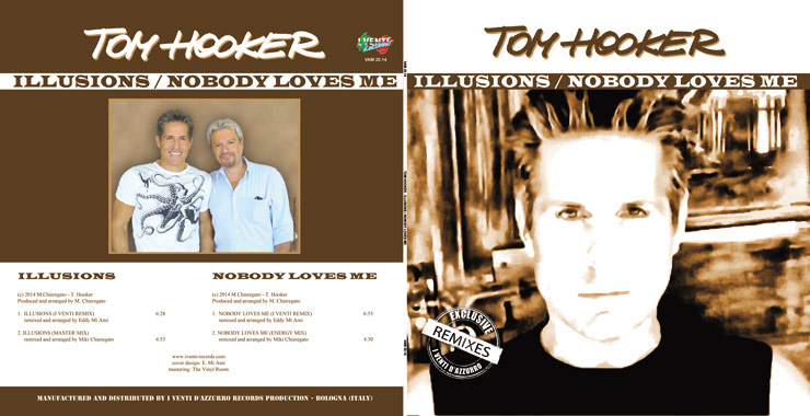 VAM 20.14 TOM HOOKER - ILLUSIONS / NOBODY LOVES ME