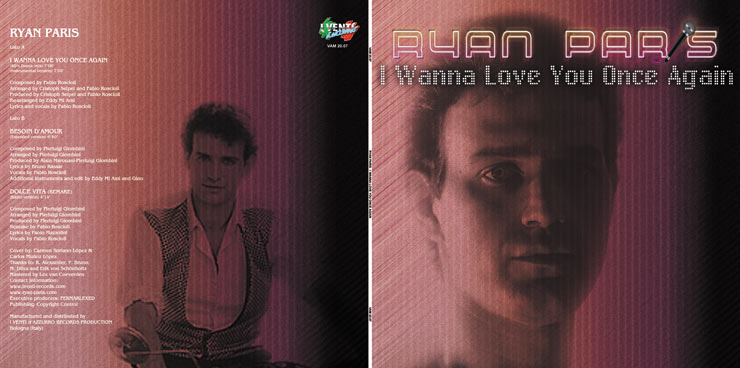 VAM 20.07 RYAN PARIS - I WANNA LOVE YOU ONCE AGAIN (80s DANCE MIX)
