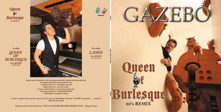 VAM 20.10 GAZEBO - QUEEN OF BURLESQUE / LADIES (80's REMIXES)