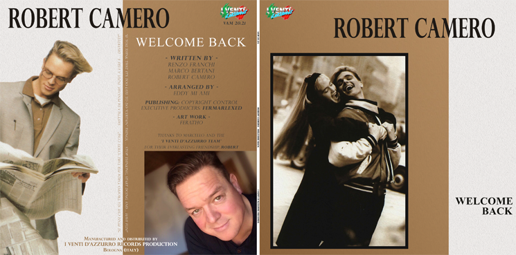VAM 20.21 ROBERT CAMERO - WELCOME BACK (WHITE VINYL)