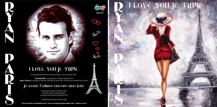 VAM 20.27 RYAN PARIS - I LOVE YOU JE T'AIME