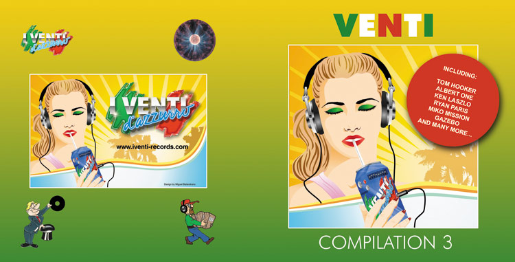 VAM-CD 20.03 VARIOUS ARTISTS - VENTI COMPILATION 3 (Double CD)