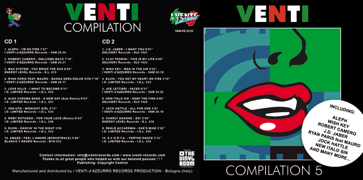 VAM-CD 20.05 VARIOUS ARTISTS - VENTI COMPILATION 5 (Double CD)