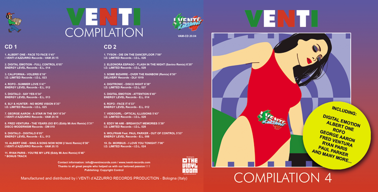 VAM-CD 20.04 VARIOUS ARTISTS - VENTI COMPILATION 4 (Double CD)