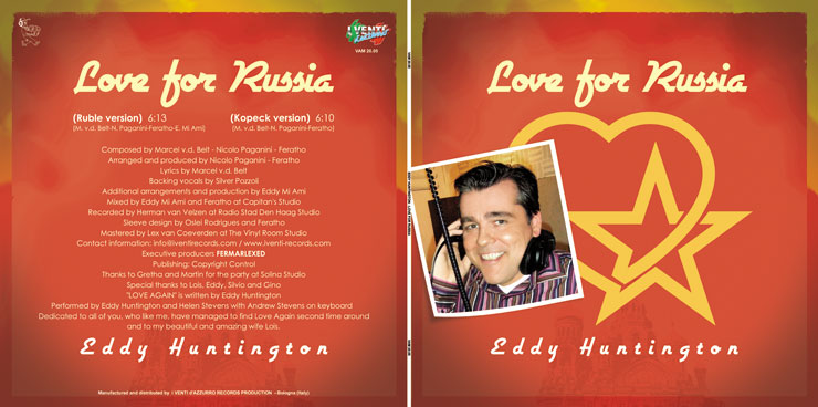 VAM 20.05 EDDY HUNTINGTON - LOVE FOR RUSSIA